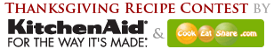 Thanksgiving Recipe Contest by KitchenAid & CookEatShare